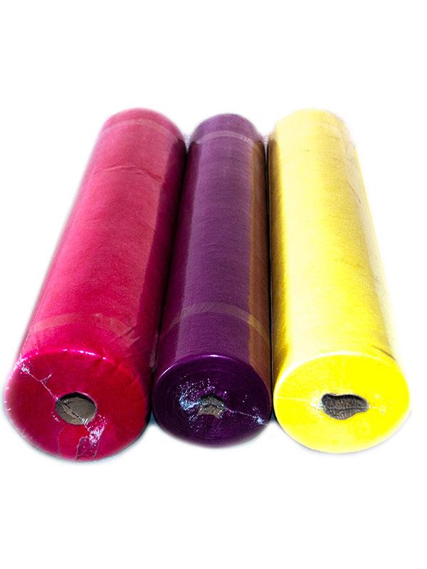 Цветная простынь в рулоне 0,6*100м