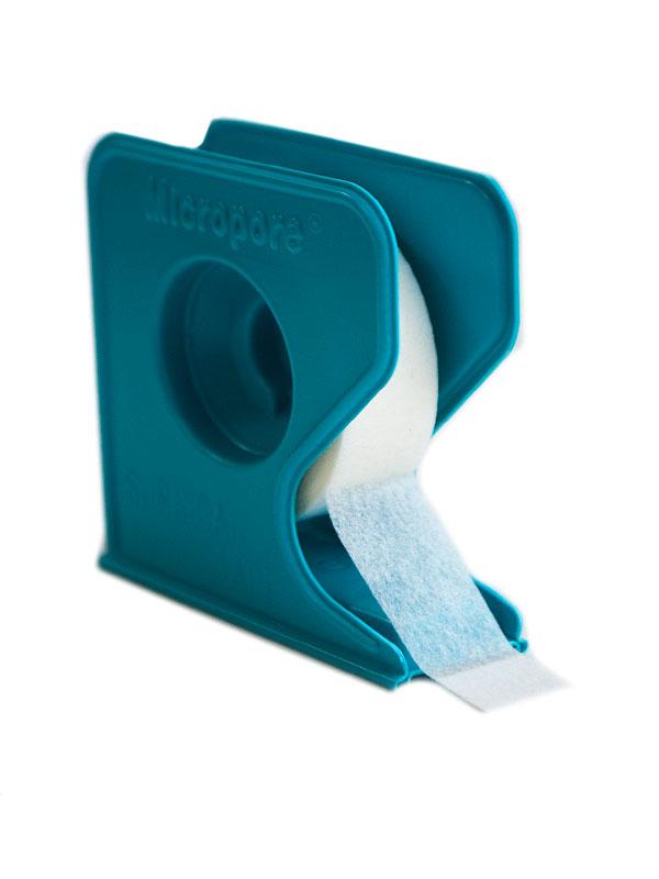 Лента для фиксации ресниц  Micropore на диспенсере