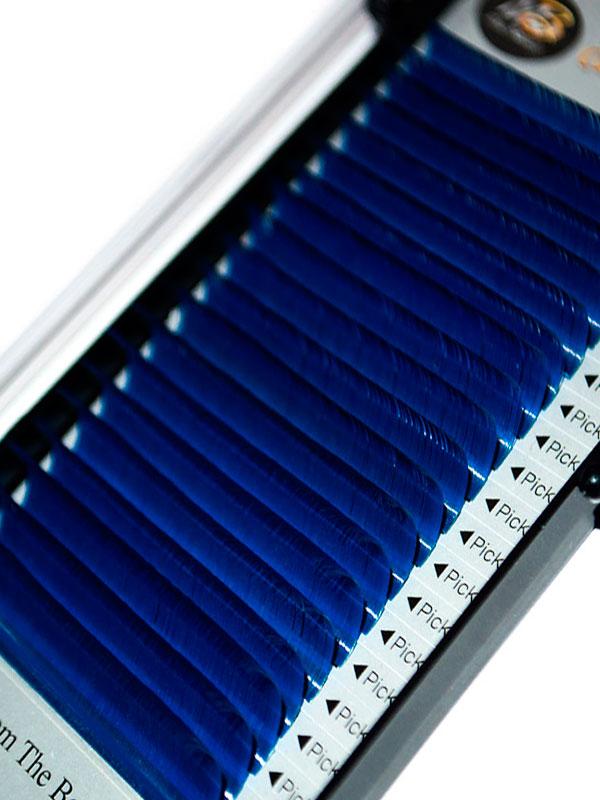 Синие ресницы на ленте (MIX) Max-Beauty