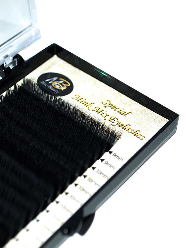 Ресницы на ленте MIX Max-Beauty (толщина 0,05\0,07)