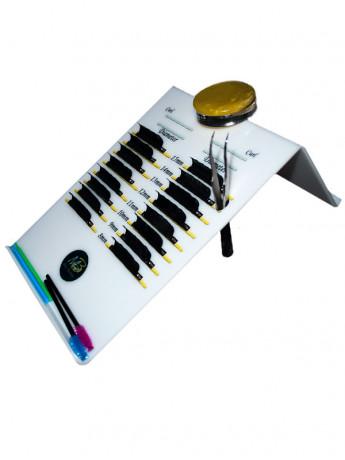Планшет для ресниц с уклоно...