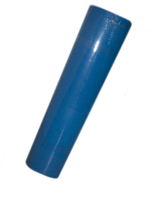 Голубая простынь в рулоне на кушетку 0.6*100м