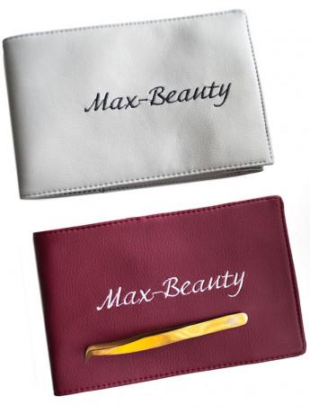 Чехол для пинцетов Max-Beauty на липучке (6 отделений)