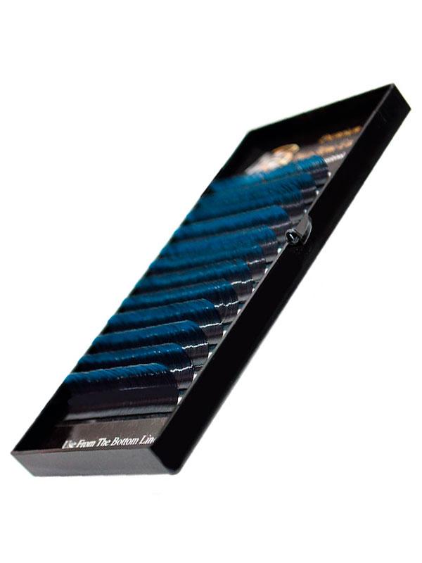 Ресницы на ленте ДВА ТОНА MIX Max-Beauty синие