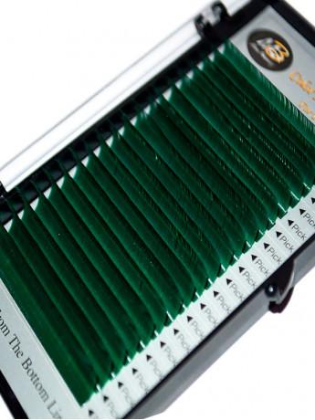 Ресницы зеленые на ленте MIX Max-Beauty