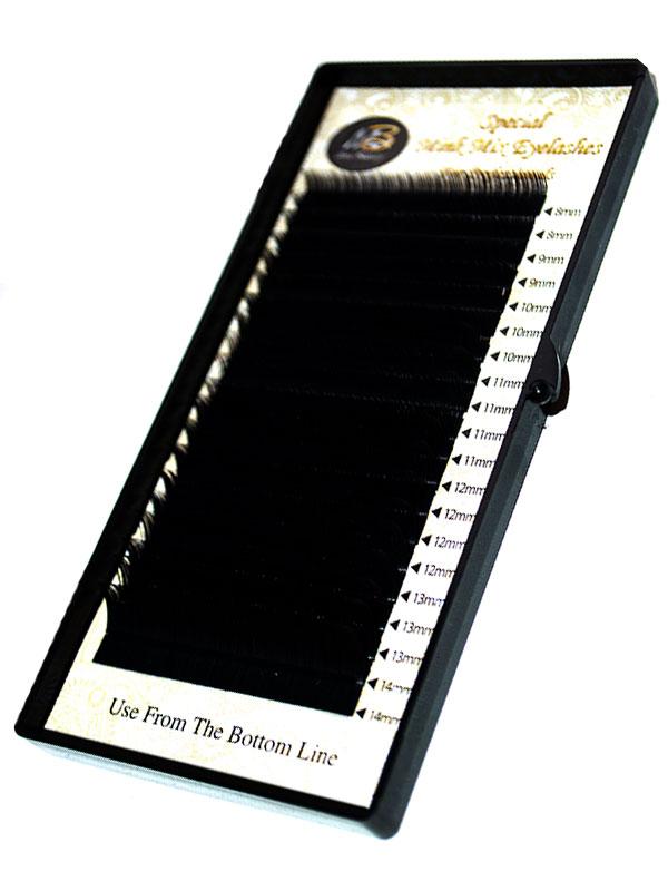 Ресницы на ленте MIX Max-Beauty (толщина 0.10\0.12\0.15\0.20)