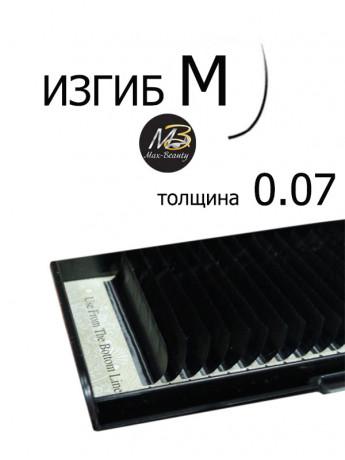 Ресницы MIX Max-Beauty, ЗАВИТОК М, толщина 0.07