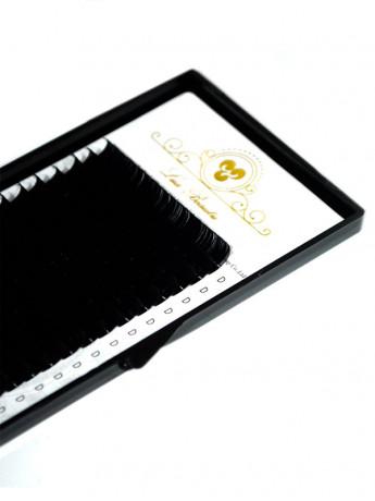 Ресницы SUPER BLACK Lux Beauty 20 лент